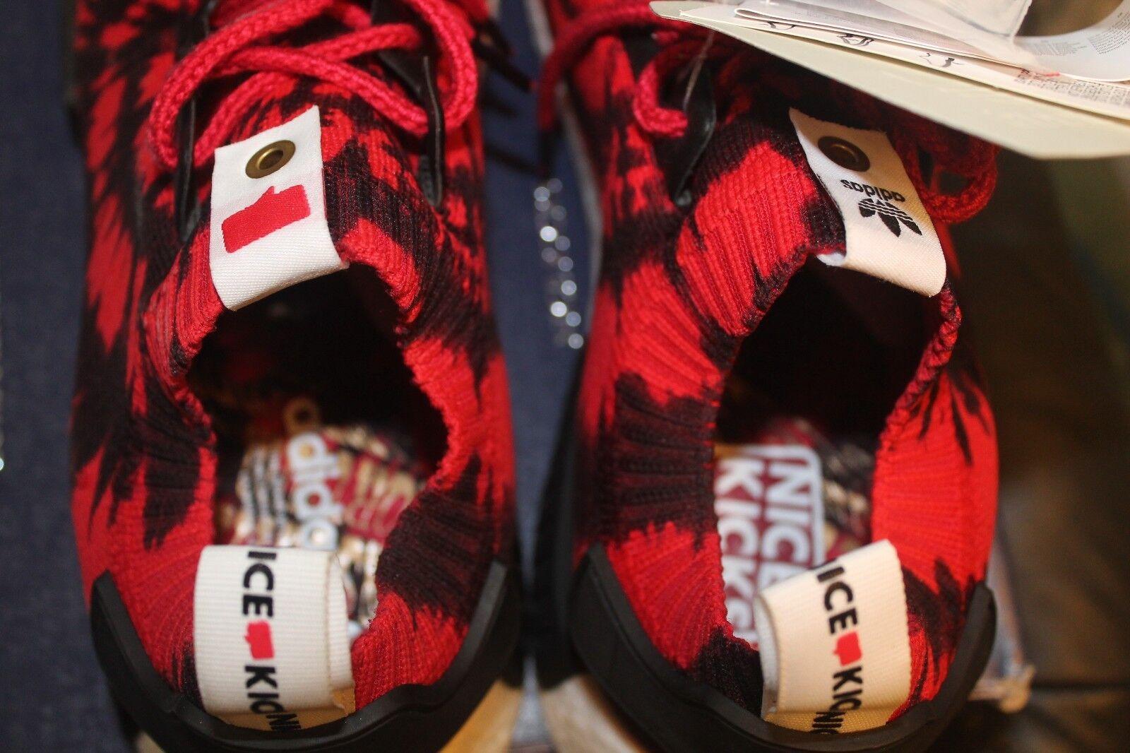Adidas x Nice Kicks NMD NMD NMD R1 PK Spiderman US 12 DS AQ4791 i ii iii iv v vi 3764ef