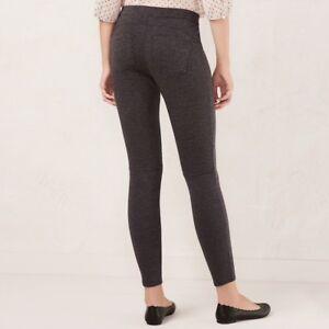 22ee1456a621a NEW XS Long Womens LC Lauren Conrad Pull-On Skinny Dress Leggings ...