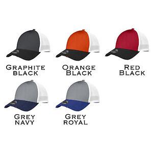 631edbcd02354 12 Custom Logo New Era 39 Thirty Vintage Mesh Stretch Fit Cap Hat ...