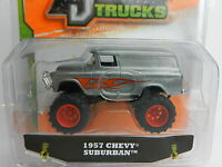 1:64 Jada Toys Just Trucks 15 Raw Metal 1957 Chevy Suburban Nip