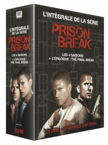 COFFRET DVD SERIE : PRISON BREAK : INTEGRALE SAISONS 1 A 4 + THE FINAL BREAK