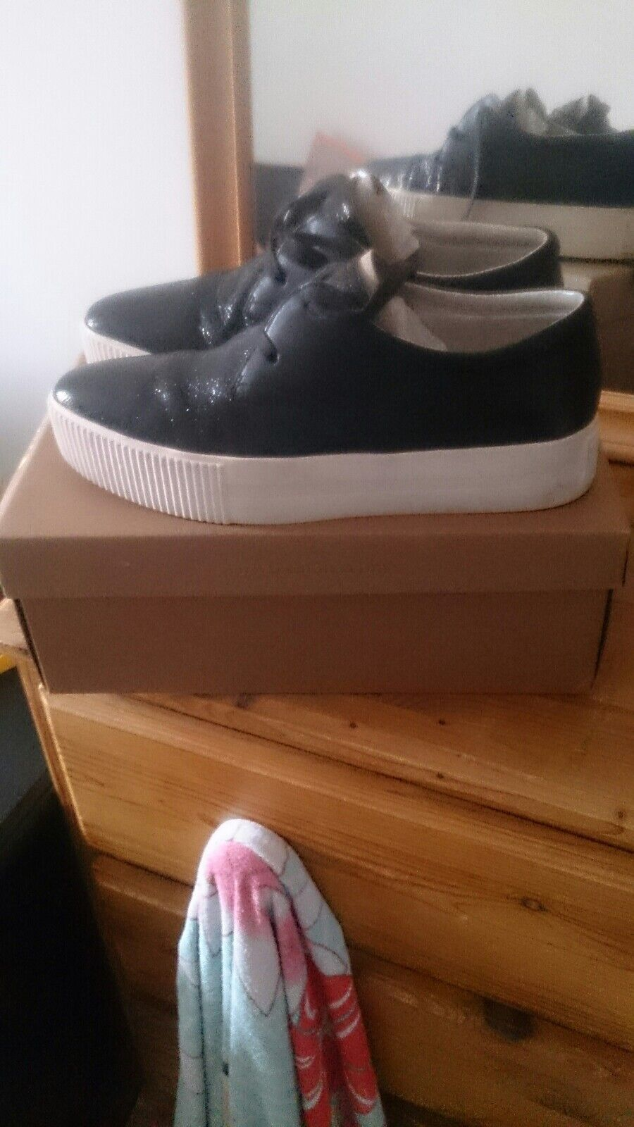 ash keanu flatform lace up trainer uk 6 excellent condition