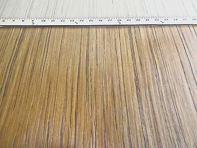 """Indian Teak composite wood veneer 24"""" x 24"""" on paper backer 1/40th"""" thickness"""