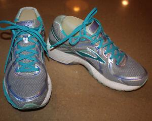 768fb0a2bb465b Brooks Adrenaline GTS 16 Womens US 9.5 B EU 41 Running Shoe Silver ...