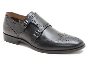 Red Tape Men Hartwell, Zapatos para Hombre, Negro, 43 EU (9 UK)