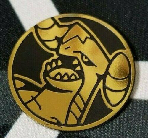 OtBG x1 Garchomp Gold Large Promo Pokemon Flip Coin TCG Official