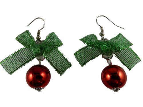 Aretes navidad Navidad abeto árbol alas Ángel gnomo azúcar barra de ramo