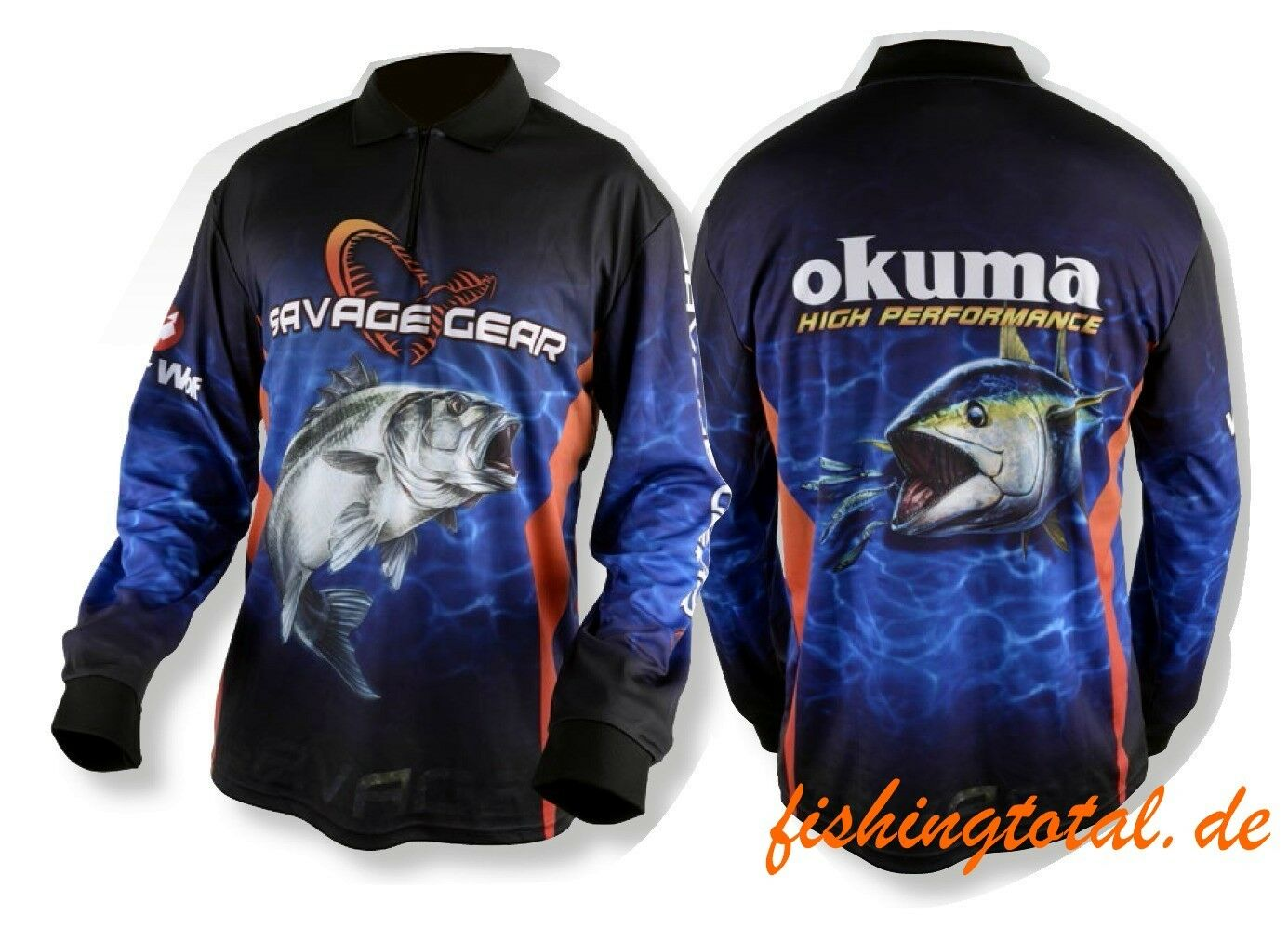 Savage Gear Tournament Jersey Seabass Tuna Size Selectable Competition Shirt   check out the cheapest