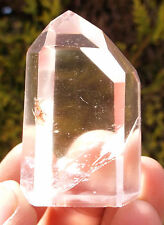 Polished Quartz Crystal Point - Cut Base. Ref:WA.QP1 Minerals Crystals