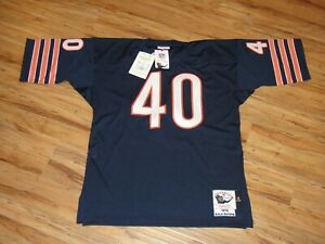 Details about GALE SAYERS #40 MITCHELL & NESS 1970 THROWBACK JERSEY SIZE 44 L CHICAGO BEARS