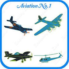 28 AVIATION AIRPLANES  EMBROIDERY DESIGN ON USB NO.2 PES JEF HUS PCS XXX VP3