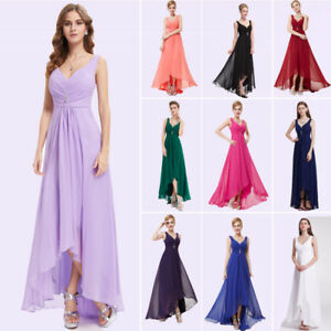 UK-Ever-Pretty-High-low-Bridesmaid-Dress-Long-Ball-Gown-Prom-Cocktail-Dress-9983