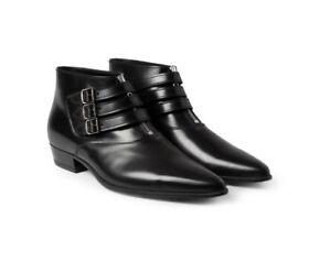 d69977e3cb4 Details about Saint Laurent SS14 Hedi Slimane Duckies Ankle Boots, sizes 42  & 45 - BNWB, £925