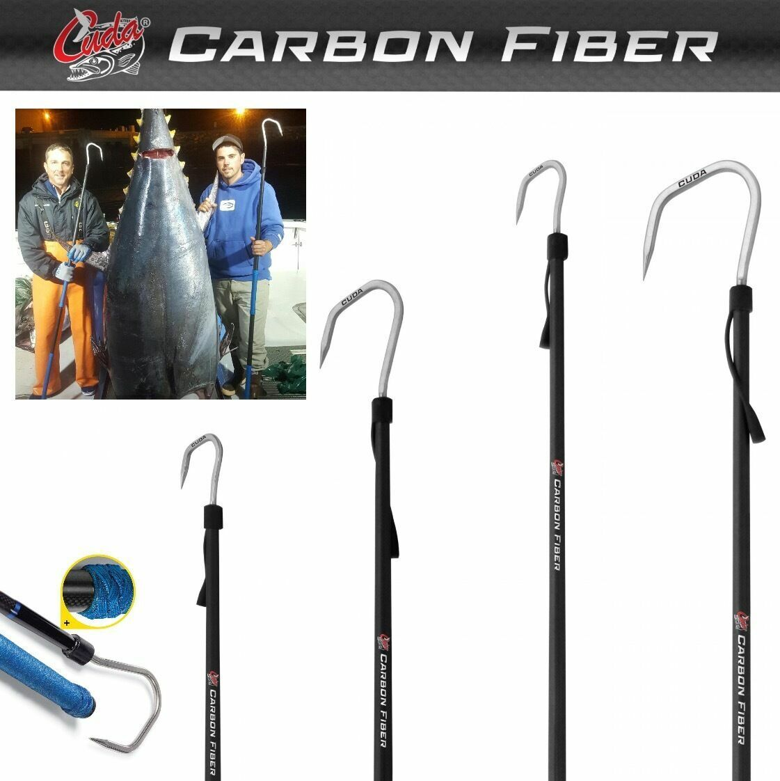 Cuda Ultimate Autobon Fiber Fishing Gaffs