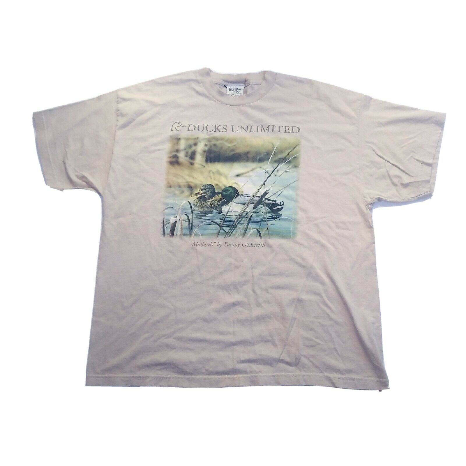 Men's Ducks Unlimited T Shirt Mallards by Danny O'Driscoll Graphic Short Sleeve 2