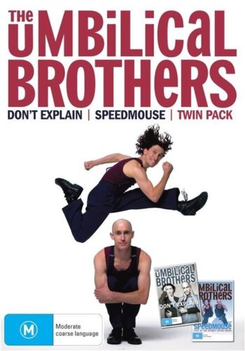 1 of 1 - The Umbilical Brothers - Twin Pack Dont Explain / Speedmouse (DVD, 2 Disc Set)