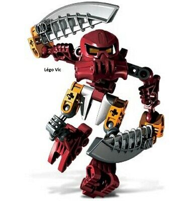 C107 Lego 8722 Bionicle Voya Nui Matoran Kazi complet de 2002
