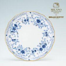 New Hello Kitty x NARUMI cake plate 19cm BLUE bone china Milan 40th Anniversary