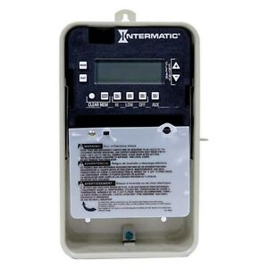 Intermatic Pe103 Digital Seasonal Timer For Swimming Pool