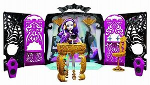 Monster High Ebay >> Monster High 13 Wishes Party Lounge Room DJ Booth with Spectra Doll Playset NEW | eBay