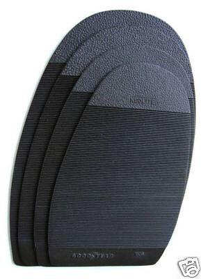 Shoe Repair GoodYear Rubber Protective Half Soles Taps 6 Pair