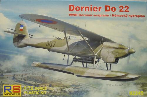 1:72 NEU RS Model Plastik Dornier Do-22