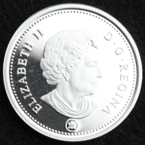 Canada 2008 Gem Proof Silver 5 Cents   PF 69 UHC