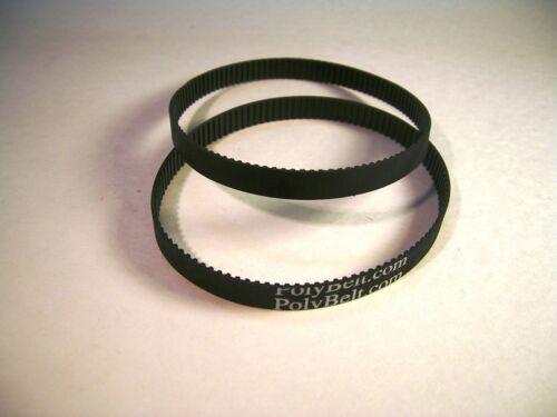 2 Pack Rpl BELTS RYOBI BD4600 Belt and Disc Sander Cog Drive Belt # BD46075