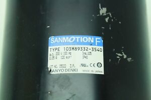 Special price due to discoloration Sanyo Denki Sanmotion F