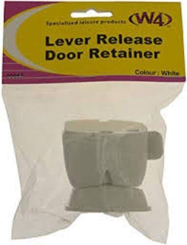 W4 Lever Release Door Retainer White 00067