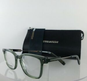 d356a7aa57 Brand New Authentic Dsquared 2 DQ 5244 096 Eyeglasses Green Silver ...