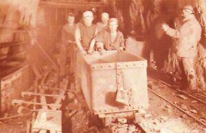 Nostalgia-Postcard-Tin-Miners-c1900-Dolcoath-Mine-Cornwall-Repro-Card-NS21