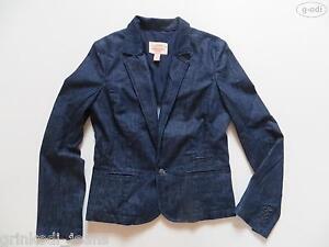 Levi-039-s-Jacke-Jeans-Blazer-Gr-L-wie-NEU-Dark-Indigo-Denim-RARITAT-40