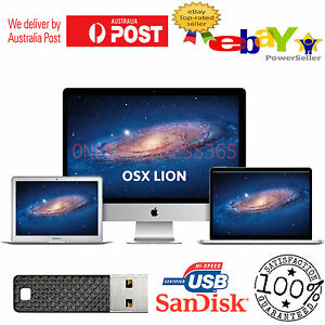 Details about Mac OS X Lion 10 7 Installer Bootable USB Drive for macbook  Pro Air iMac