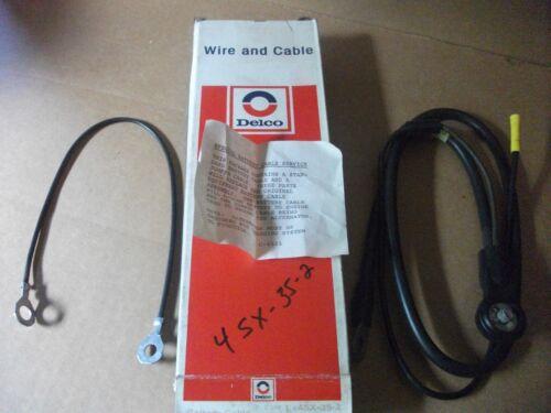 Vintage NOS Delco Battery Cable 4SX35-2 2003647 GR 2.342  1976-1981 CHEVETTE L4