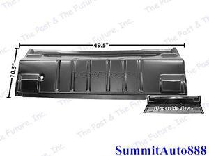 1965 66 67 68 69 70 Impala Trunk Floor Panel Left Side Weld Through Primer Dii