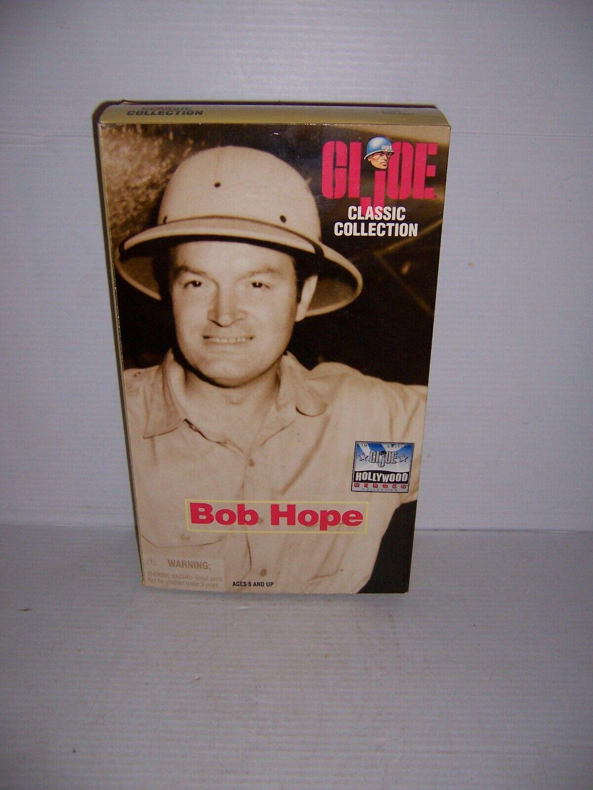 1998 GI Joe Classic Collection Hollywood Heroes 12  Bob Hope Action Figure MIB