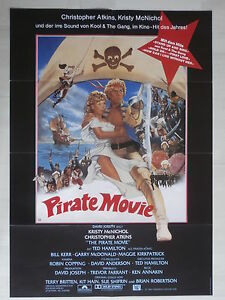 Pirate Movie (1982) - Kinoplakat Filmplakat (Krity McNichol, Christopher Atkins) - <span itemprop='availableAtOrFrom'>Stockstadt, Deutschland</span> - Pirate Movie (1982) - Kinoplakat Filmplakat (Krity McNichol, Christopher Atkins) - Stockstadt, Deutschland