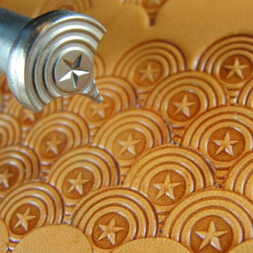 Star Center Shell Geometric Stamp James Linnell Leather Stamping Tool