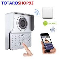 VIDEO CITOFONO IP CONNESSIONE WIFI 2,4 G WIFI601 SMARTPHONE ANDROID IOS DORBELL