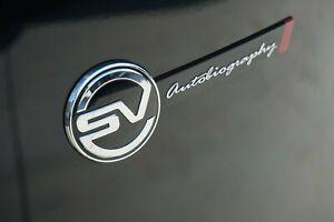 Land Rover OEM Range Rover Velar L560 SVAutobiography Tailgate Badge Brand New