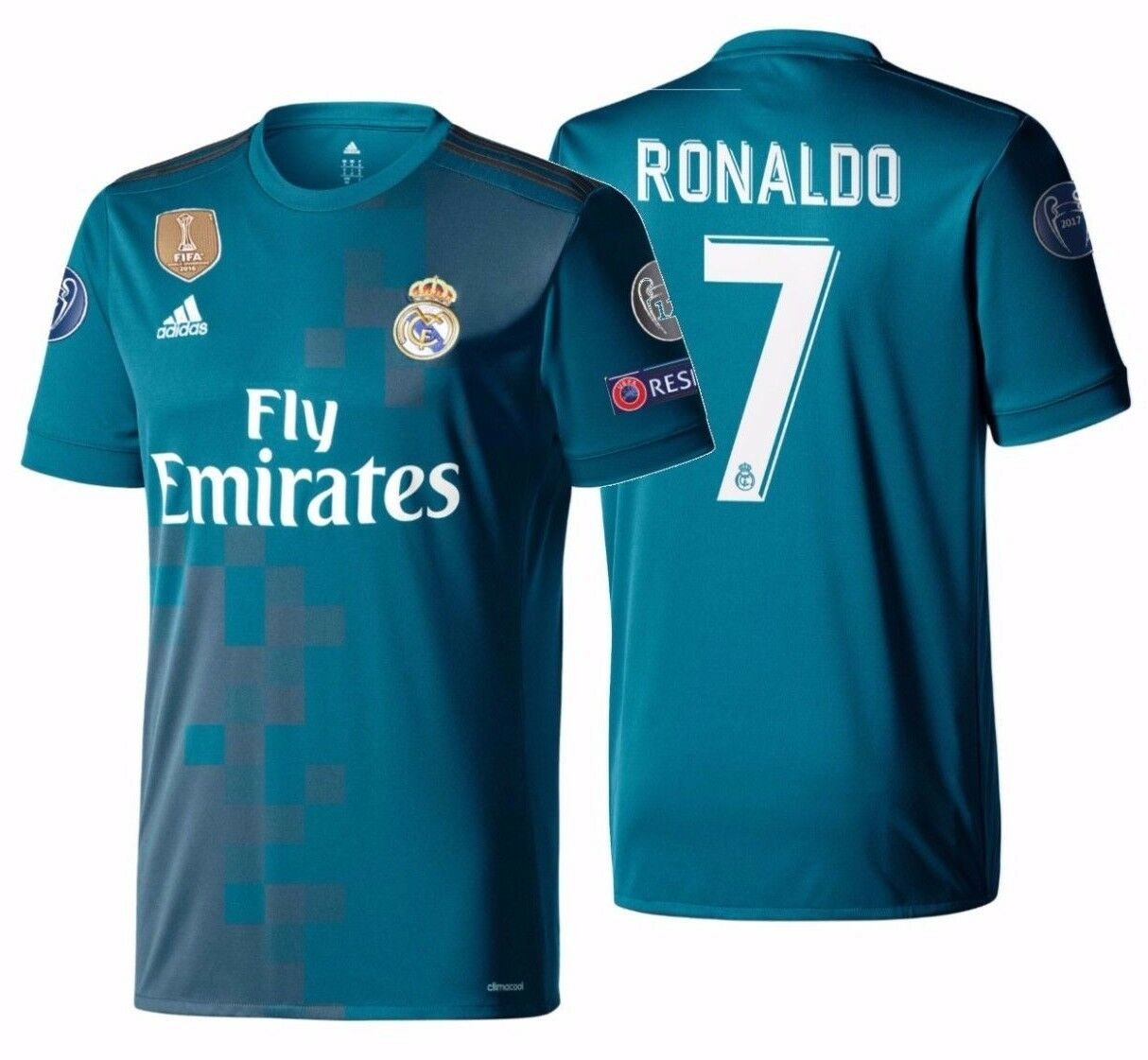 Cristiano Ronaldo Signed 2017 18 Real Madrid Third Soccer Jersey In Frame For Sale Online Ebay