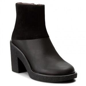0a7626a2f71 NEW JIL SANDER NAVY Boots - JN29110 Nero 999 - Black - EU 38.5  UK 6 ...