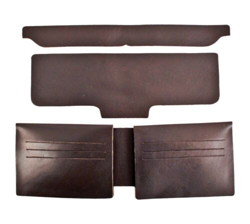 Black and Brown New Realeather Credit Card Wallet Liner