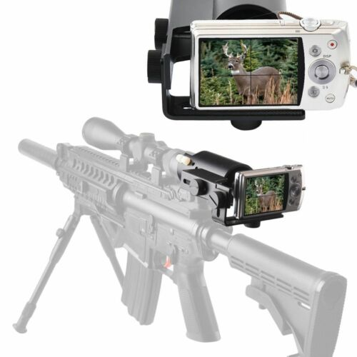 Scope Cam Mount Adapter for Rifle Gun Airgun Hunting Shooting for Compact Camera