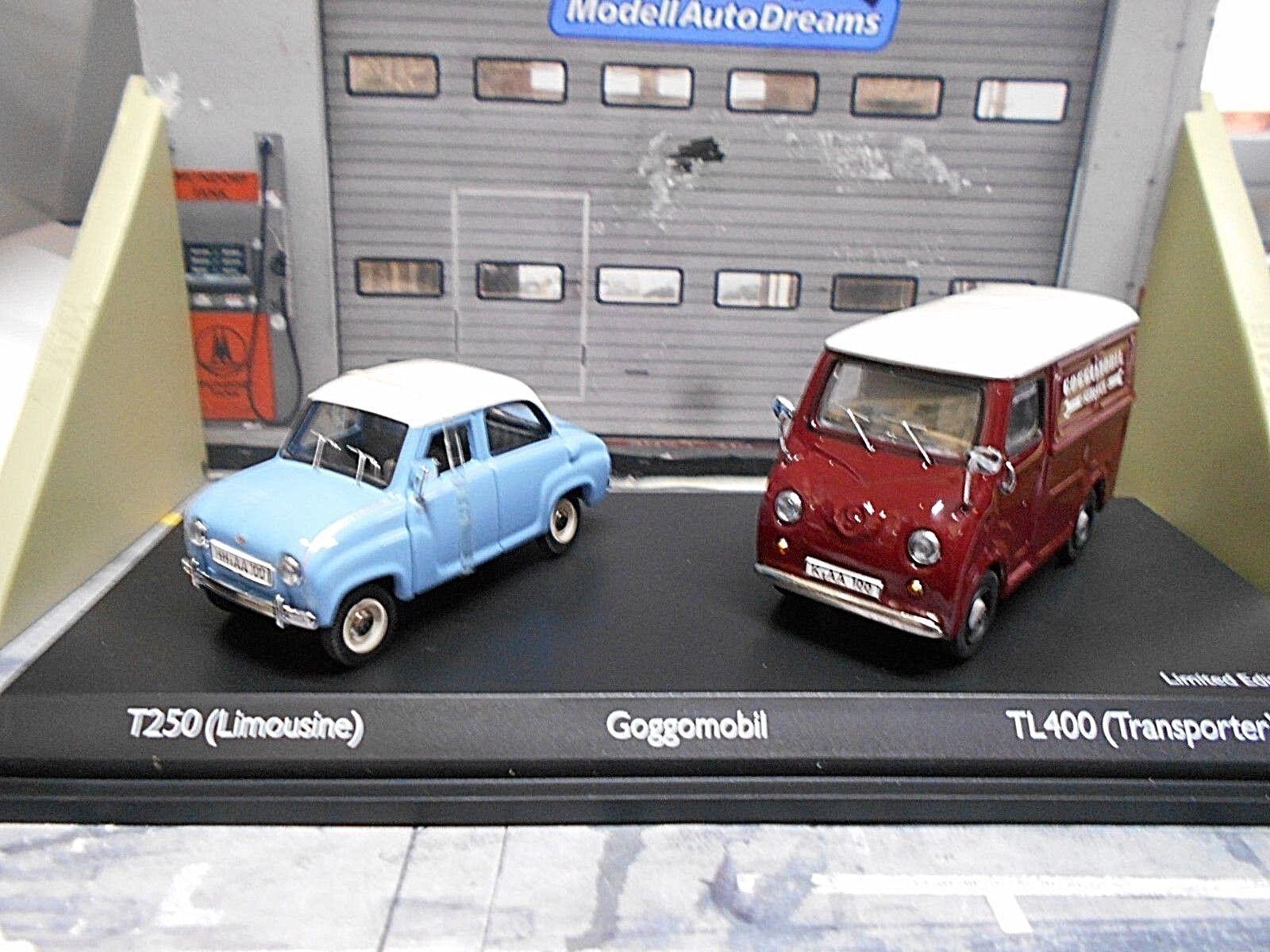 GOGGO GOGGO GOGGO Goggomobil TL400 + T250 Transporter + PKW Doppelset Schuco 2x 1 43 ef589e