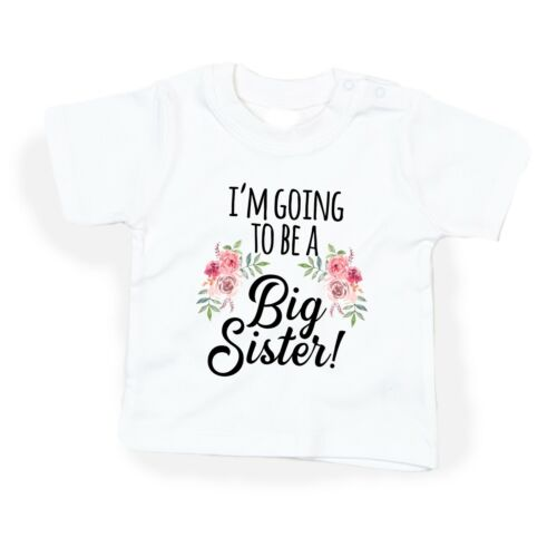 I/'m going to be a BIG sister girl Shirt Big Sister Announcement top DOVITEE