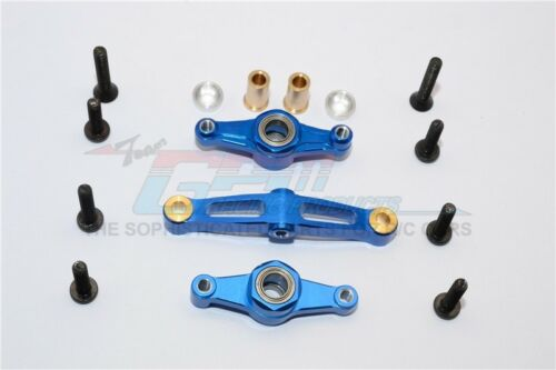 1 PC for Tamiya TT-02 GPM alloy steering assembly with bearing