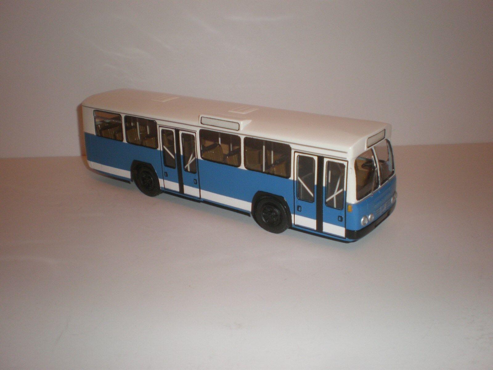 1 43 ciudad alemana Bus década de 1970 Bussing prafect 11 hecho a mano