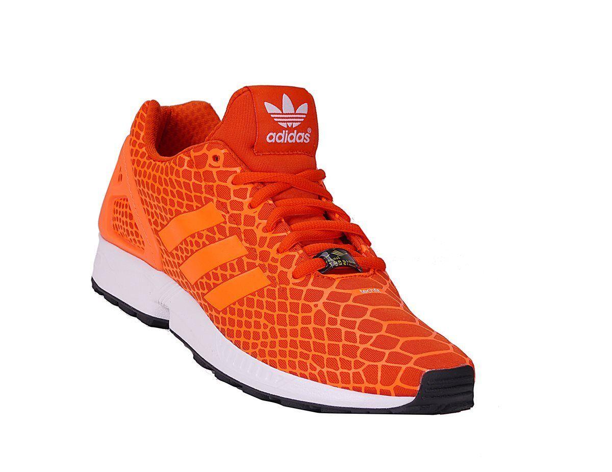 Adidas ZX Flux Größen Tech Fit S75489 Snekaer Trainers diverse Größen Flux Orange Neu bc137a